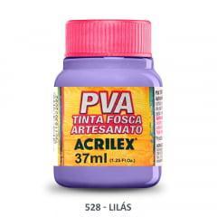 Tinta Pva Fosca para Artesanato 528 Lilás 37 ml