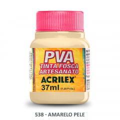 Tinta Pva Fosca para Artesanato 538 Amarelo Pele 37 ml
