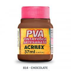 Tinta Pva Fosca para Artesanato 814 Chocolate 37 ml