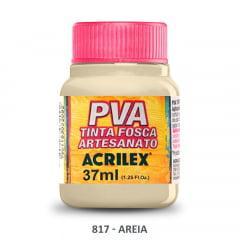 Tinta Pva Fosca para Artesanato 817 Areia 37 ml