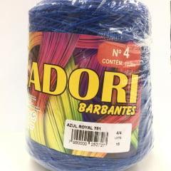 Barbante Cadori Nº4 Azul Royal 751 700 g