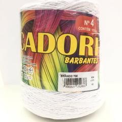 Barbante Cadori Nº4 Branco 700 700 g