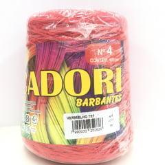 Barbante Cadori Nº4 Vermelho 727  700 g
