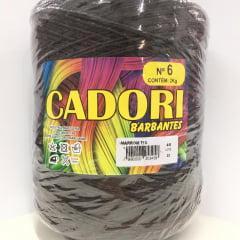 Barbante Cadori Nº6 713 Marrom 2 kg