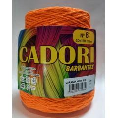 Barbante Cadori Laranja Neon Nº6 815 700 g