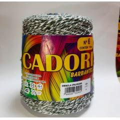 Barbante Cadori Mescla Cru / Musgo Nº6 7 700 g