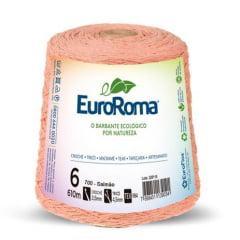 Barbante EuroRoma nº6 Salmão 600gr