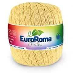 Barbante Euroroma Nº6 450 Amarelol Brilho Ouro 400 Gr