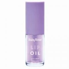 Ruby Rose Lip Oil Gloss Labial Hidratante - Uva