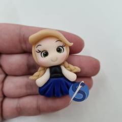 Aplique de Biscuit Princesa Anna