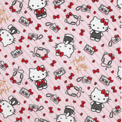 Tecido Impermeável Belize Hello Kitty  02