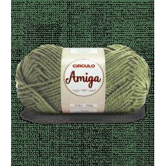 Lã Amiga 5081 Alcaparra 100g