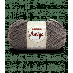 Lã Amiga 7417 Chumbo 100g