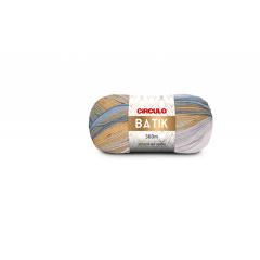 Lã Batik 9511 Azul Rei 100g