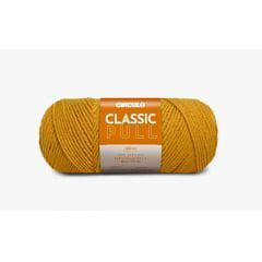 Lã Classic Pull 1718 Mostarda Círculo 200g