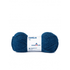 Lã Família Pingouin 519 M. Azul 40gr