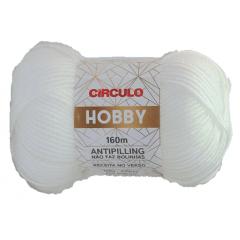 Lã Hobby 10 Branco 100g