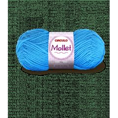Lã Mollet Círculo 2194 Turquesa 40gr