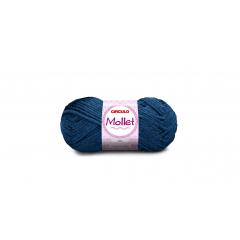 Lã Mollet Círculo 2770 Azul Clássico 40gr