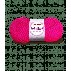 Lã Mollet Círculo 385 Pink 40gr