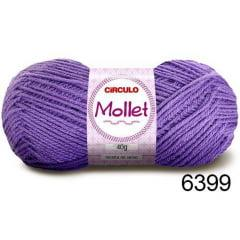 Lã Mollet Círculo 6399 Azaléia 40gr