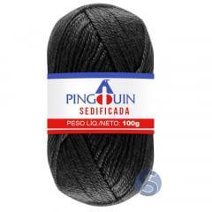 Lã Sedificada Pingouin 100 Preto 100gr