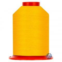 Linha para Bordar a Máquina Ricamare Amarelo Sol 4000m
