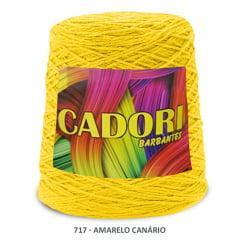 Barbante Cadori Amarelo Canário 717 N°8 700 g