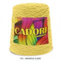 Barbante Cadori Amarelo Claro 715 N°8 700 g