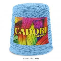 Barbante Cadori Azul Claro 745 N°8 700 g