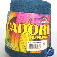 Barbante Cadori Azul Petróleo  Nº6 789 700 g