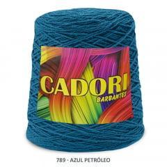 Barbante Cadori Azul Petróleo 789 N°8 700 g