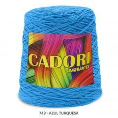 Barbante Cadori Azul Turquesa 749 N°8 700 g