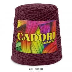 Barbante Cadori Bordô 731 N°8 700 g
