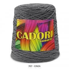 Barbante Cadori Cinza 707 N°8 700 g