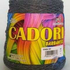 Barbante Cadori Cinza Nº6 707 700 g