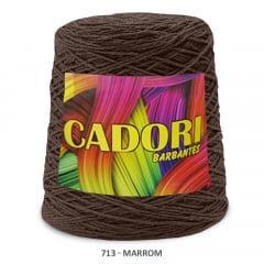 Barbante Cadori Marrom 713 N°8 700 g