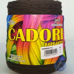 Barbante Cadori Marrom Nº6 713 700 g