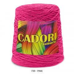 Barbante Cadori Pink 739 N°8 700 g