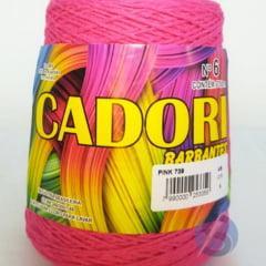 Barbante Cadori Pink Nº6 739 700 g