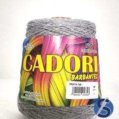 Barbante Cadori Prata Nº6 705 700 g