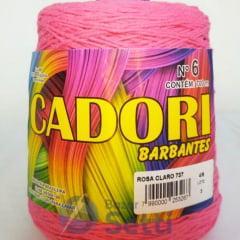 Barbante Cadori Rosa Claro Nº6 737 700 g