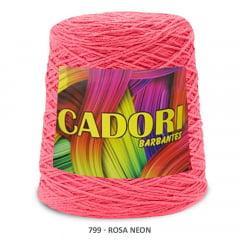 Barbante Cadori Rosa Neon 799 N°8 700 g
