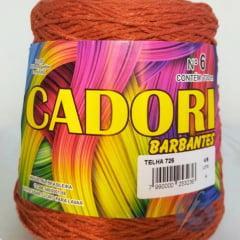 Barbante Cadori Telha  Nº6 725 700 g