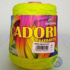 Barbante Cadori Verde Abacate Nº6 757 700 g