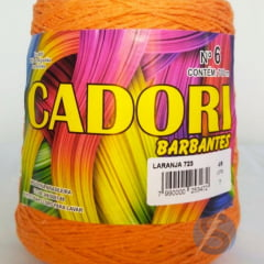 Barbante Cadori Laranja  Nº6 723 700 g