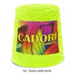Barbante Cadori Verde Limão Neon 765 N°8 700 g