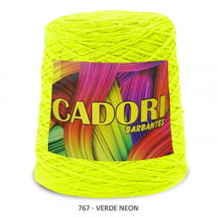 Barbante Cadori Verde  Neon 767 N°8 700 g