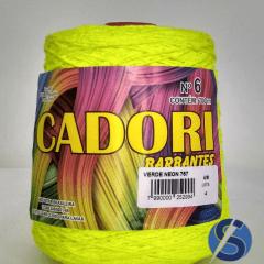 Barbante Cadori Verde Neon Nº6 767 700 g