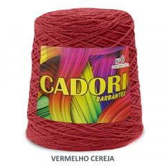 Barbante Cadori Vermelho Cereja Nº6 700 g
